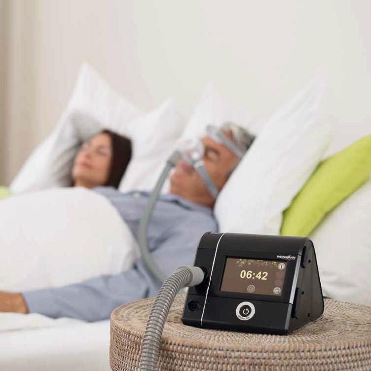 фото 14 - Аппарат для неинвазивной вентиляции легких Weinmann Prisma25ST