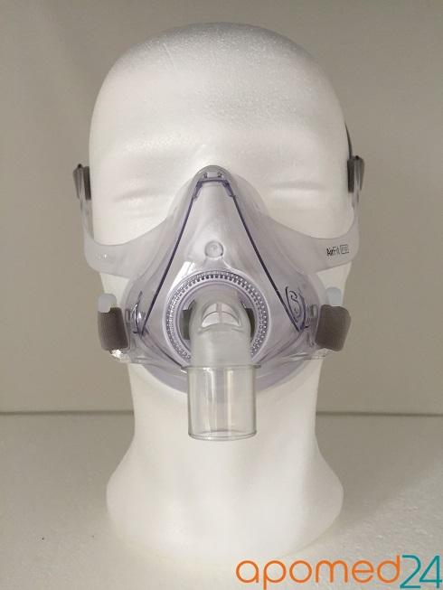 фото 6 - Комплект ResMed Airsense 10 Autoset (S10) + рото-носовая маска ResMed AirFit F10 + Накладка на нос Resmed Gecko
