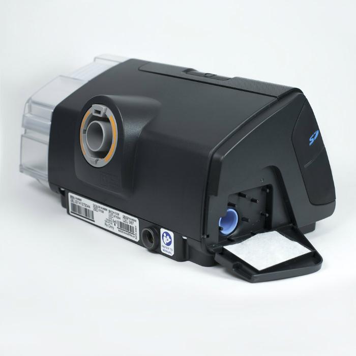 фото 2 - Комплект Resmed Airsense 10 Autoset (S10) с увлажнителем + назальная маска + Накладка на нос Resmed Gecko