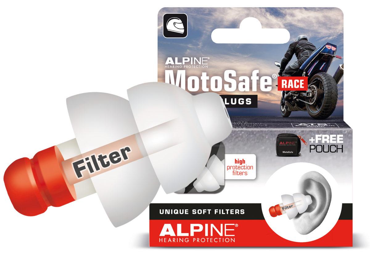 фото 4 - Беруши для мотоспорта ALPINE MOTOSAFE RACE