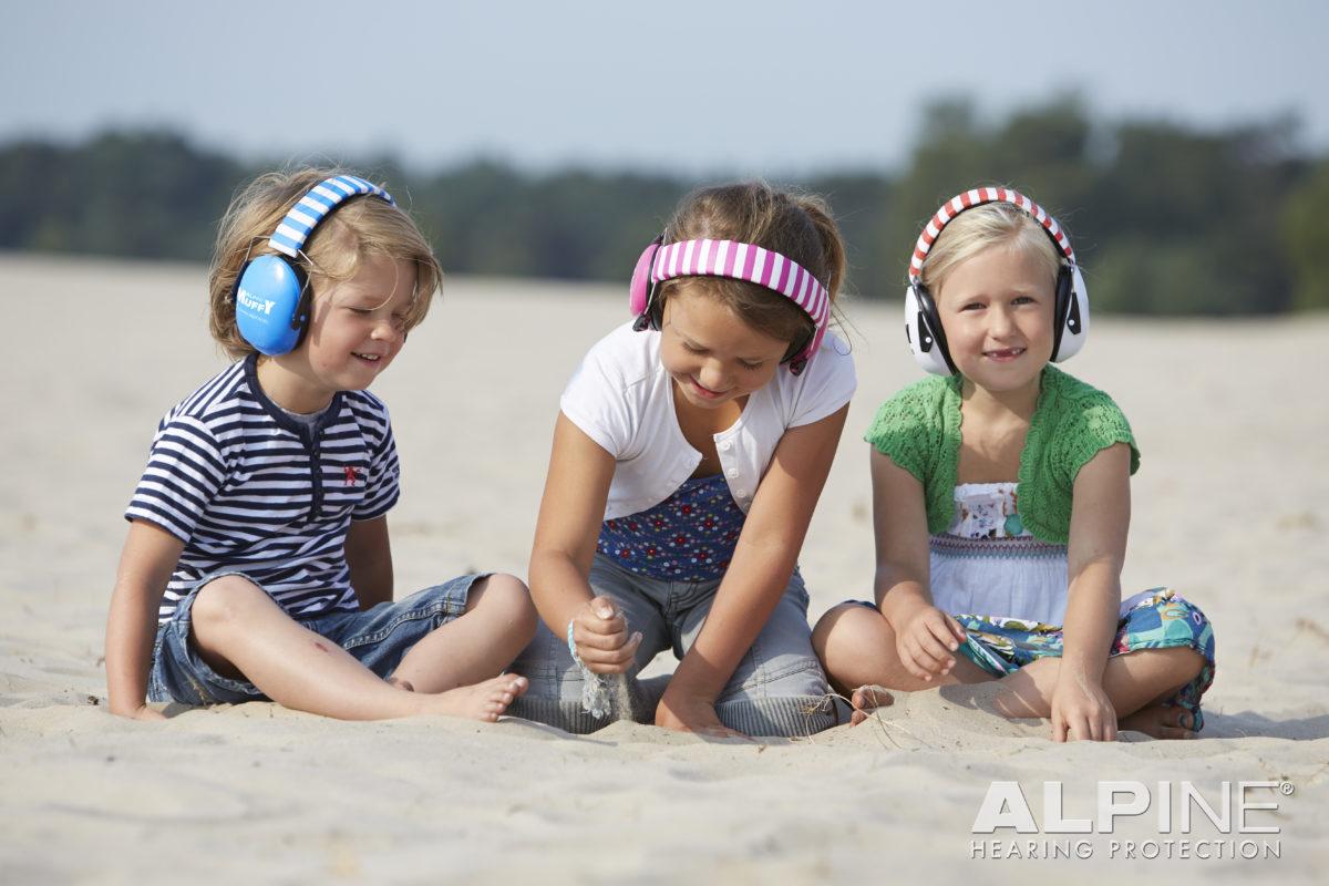 фото 1 - Наушники для детей ALPINE MUFFY  синие