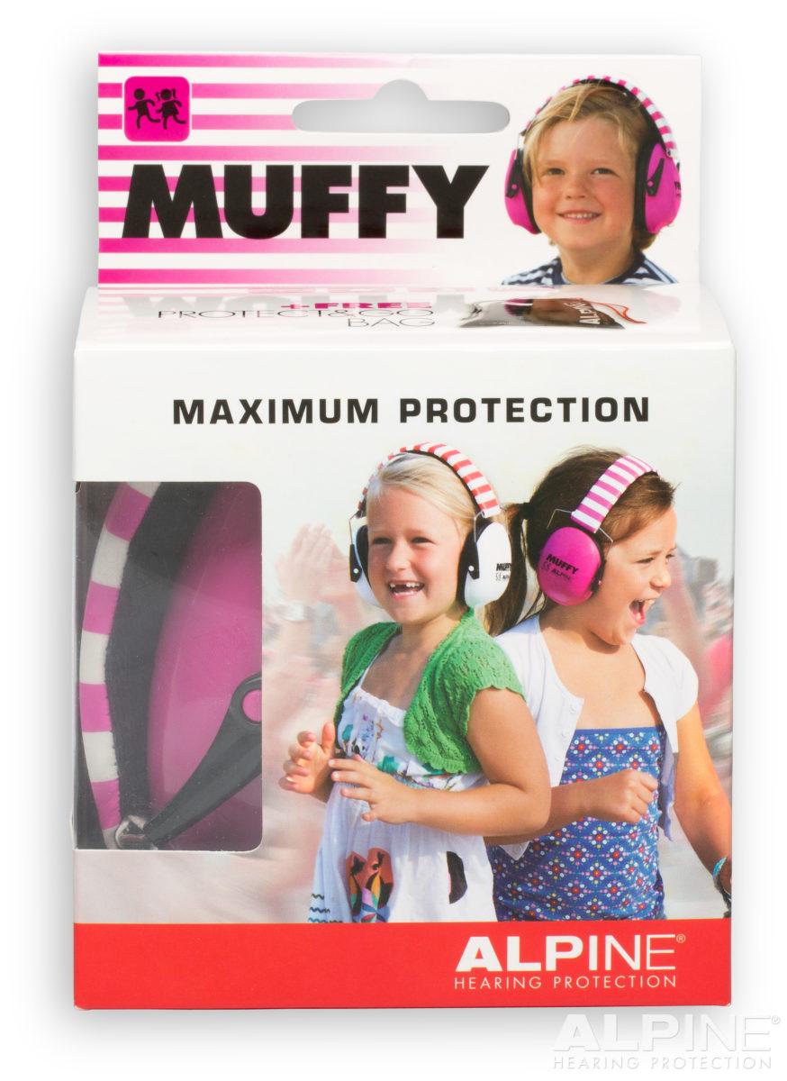 фото 4 - Наушники для детей ALPINE MUFFY красные