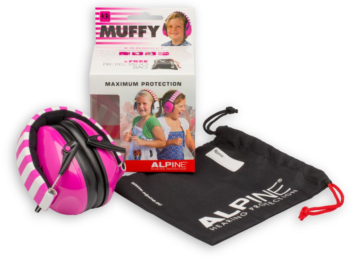 фото 1 - Наушники для детей ALPINE MUFFY  розовые