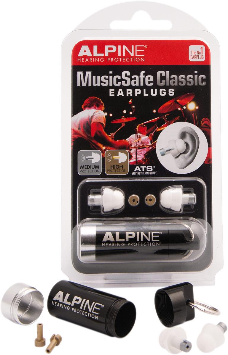 фото 1 - Беруши для музыкантов ALPINE MUSICSAFE CLASSIC