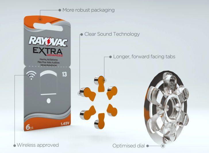фото 1 - Батарейки Rayovac серия ADVANCED EXTRA 13 (комплект: 6 шт)
