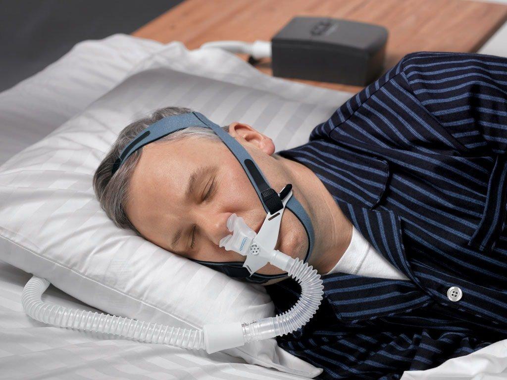 фото 2 - Канюльная СиПАП маска OptiLife Respironics