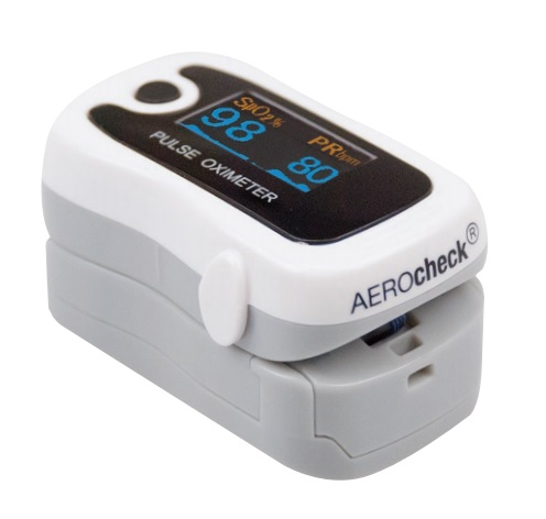 фото 1 - Пульсоксиметр Fingertip pulse oximeters AEROcheck® (portable)