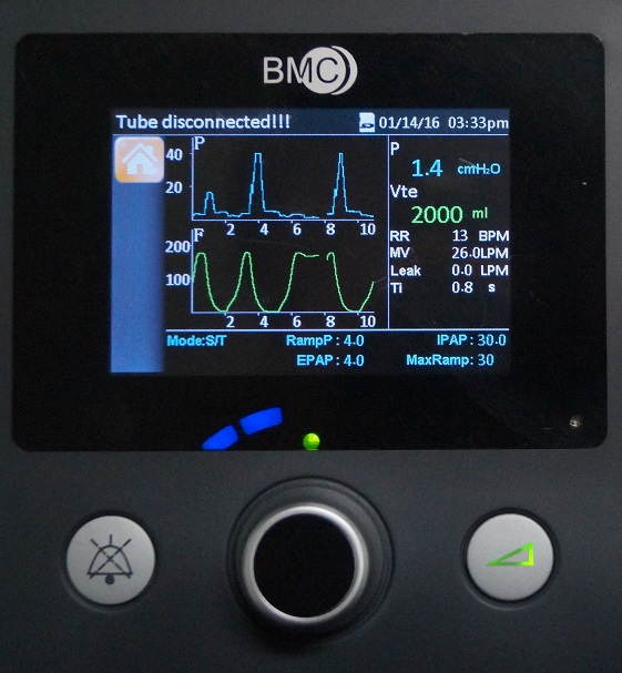 фото 3 - RESmart GII BPAP System T-30T с увлажнителем