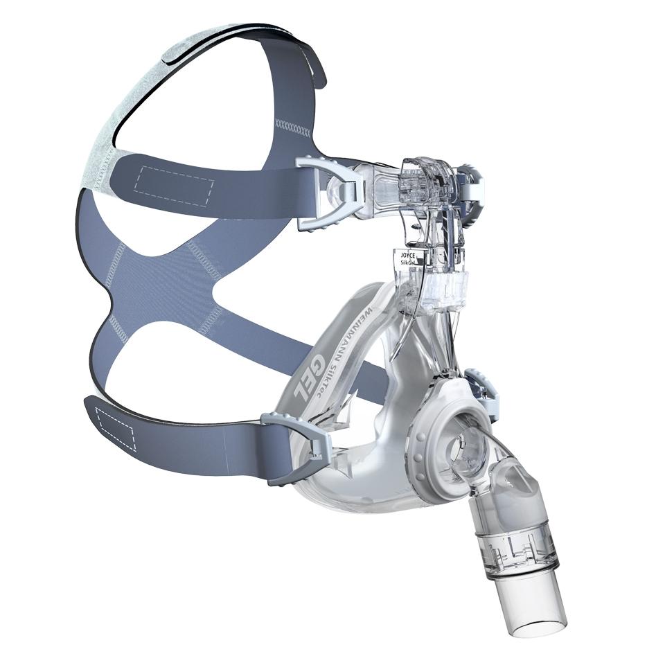 фото 2 - Уплотнитель длярото-носовой маски JOYCE SILK GEL, WEINMANN; р-р: М