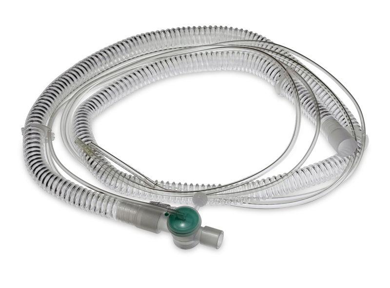 фото 1 - Дыхательный контур для пациента для ИВЛ