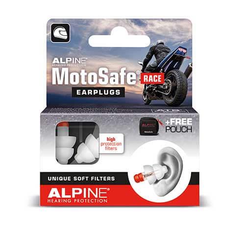 фото 1 - Беруши для мотоспорта ALPINE MOTOSAFE RACE