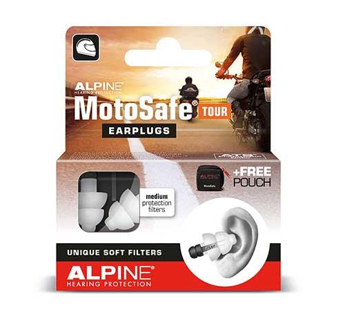 фото 1 - Беруши для мотоспорта  ALPINE MOTOSAFE TOUR