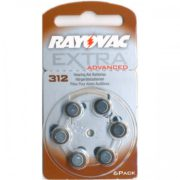 Батарейки Rayovac серияADVANCED EXTRA 312