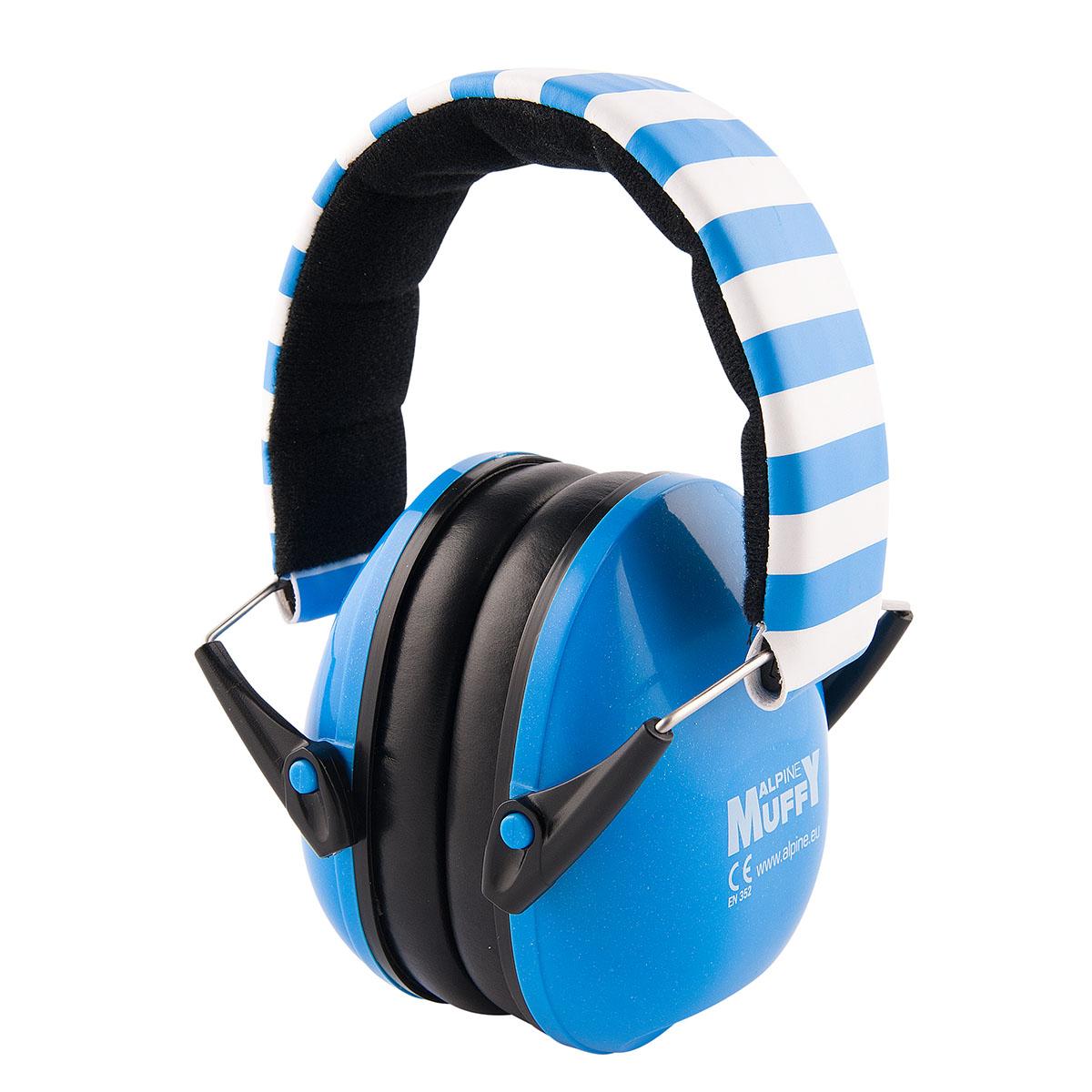 фото 2 - Наушники для детей ALPINE MUFFY  синие