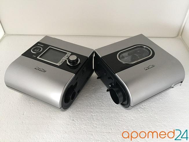 фото 2 - Комплект ResMed S9 AutoSet+рото-носовая маска ResMed Mirage Quattro+Накладка на нос Resmed Gecko