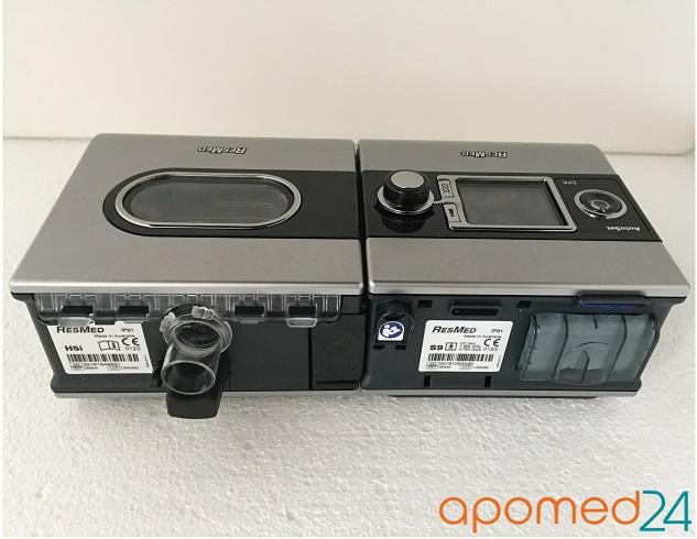 фото 4 - Комплект ResMed S9 AutoSet+рото-носовая маска ResMed Mirage Quattro+Накладка на нос Resmed Gecko