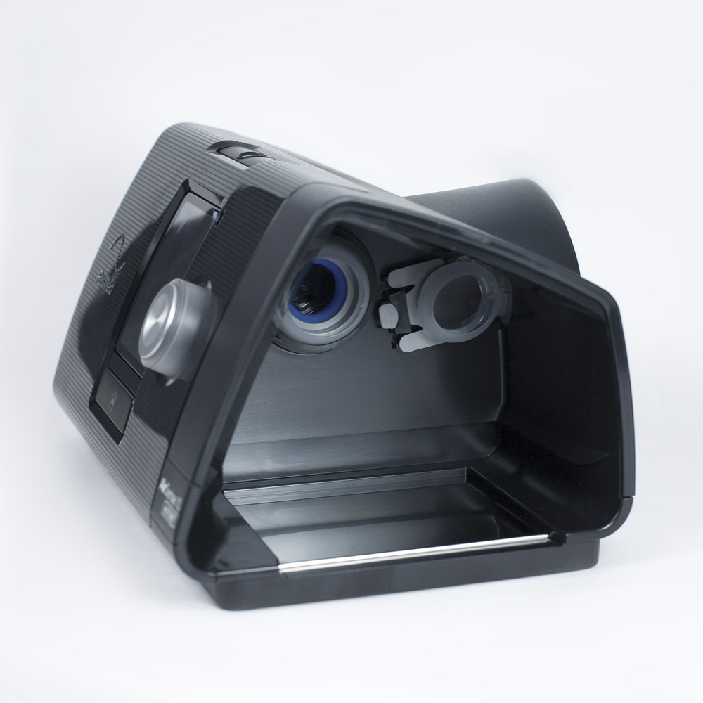 фото 8 - Комплект Resmed Airsense 10 Autoset (S10) с увлажнителем + назальная маска + Накладка на нос Resmed Gecko