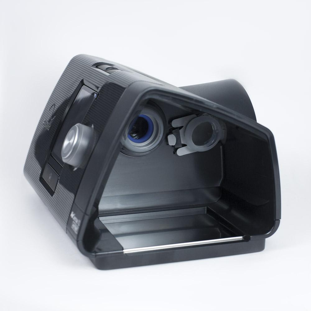 фото 5 - Комплект ResMed Airsense 10 Autoset (S10) + рото-носовая маска ResMed AirFit F10 + Накладка на нос Resmed Gecko