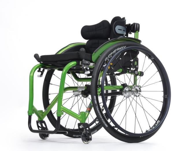 фото 4 - Кресло-коляска инвалидное Vermeiren активное Sagitta