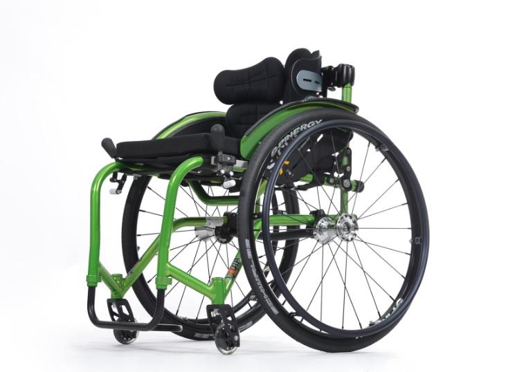 фото 3 - Кресло-коляска инвалидное Vermeiren активное Sagitta