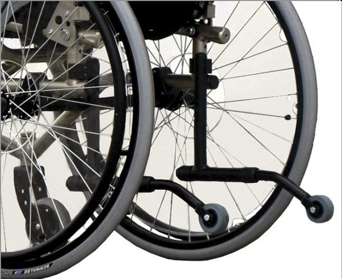 фото 7 - Кресло-коляска инвалидное Vermeiren активное Sagitta