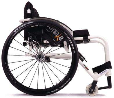 фото 2 - Кресло-коляска инвалидное Vermeiren активное Sagitta